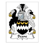 Deane Family Crest Small Poster
