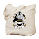 Deane Family Crest Tote Bag
