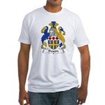 Deacon Family Crest  Fitted T-Shirt