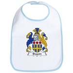 Deacon Family Crest  Bib