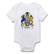 Deacon Family Crest  Infant Bodysuit