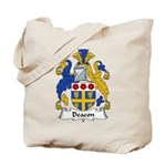 Deacon Family Crest  Tote Bag
