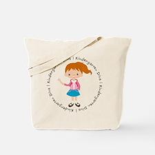 Cute Girl Kindergarten Diva Tote Bag