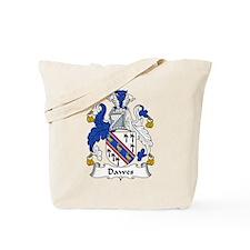 Dawes Family Crest Tote Bag