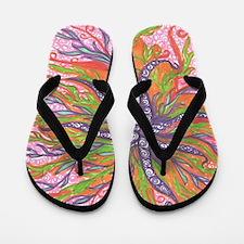 fluxuous floraless Flip Flops