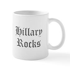 Hillary Rocks-Old gray 400 Mugs