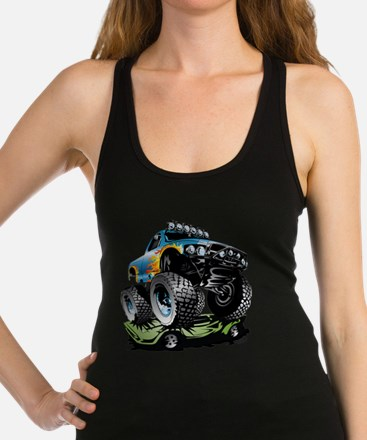Monster Race Truck Crush Tank Top