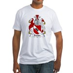 Davies Family Crest Fitted T-Shirt