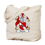 Davies Family Crest Tote Bag