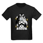 Davenport Family Crest Kids Dark T-Shirt