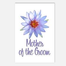 Lotus Groom's Mother Postcards (Package of 8)