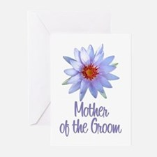 Lotus Groom's Mother Greeting Cards (Pk of 10)