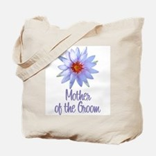 Lotus Groom's Mother Tote Bag