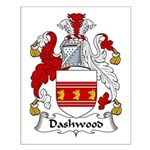 Dashwood Family Crest  Small Poster