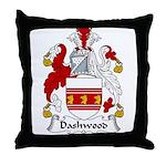 Dashwood Family Crest  Throw Pillow