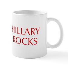 Hillary Rocks-Opt red 550 Mugs
