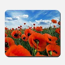 Poppy Flowers Field Mousepad