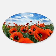 Poppy Flowers Field Decal