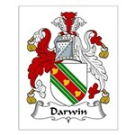 Darwin Family Crest Small Poster