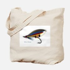'Silver Doctor Salmon Fly'  Tote Bag