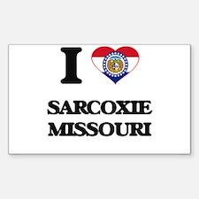 I love Sarcoxie Missouri Decal