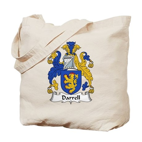 Darrell Family Crest Tote Bag