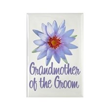 Lotus Groom's Mother Rectangle Magnet