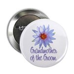 Lotus Groom's Mother Button