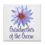 Lotus Groom's Mother Tile Coaster