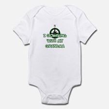 Hiking Grandma Infant Bodysuit