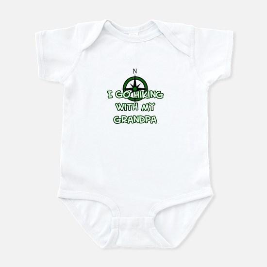 Hiking Grandpa Infant Bodysuit
