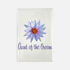 Lotus Groom's Aunt Rectangle Magnet