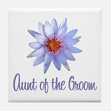 Lotus Groom's Aunt Tile Coaster