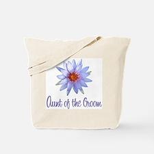 Lotus Groom's Aunt Tote Bag