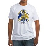 Darby Family Crest  Fitted T-Shirt