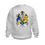 Darby Family Crest  Kids Sweatshirt