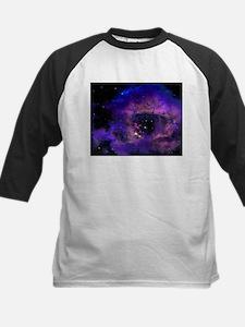 Purple Nebula Baseball Jersey