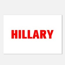 Hillary-Akz red 500 Postcards (Package of 8)