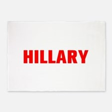 Hillary-Akz red 500 5'x7'Area Rug