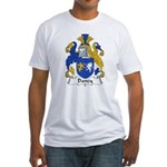 Dancy Family Crest Fitted T-Shirt