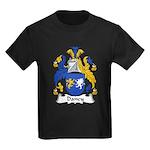 Dancy Family Crest Kids Dark T-Shirt