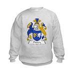 Dancy Family Crest Kids Sweatshirt