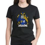 Dancy Family Crest Women's Dark T-Shirt