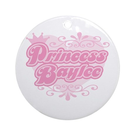 """Princess Baylee"" Ornament (Round)"