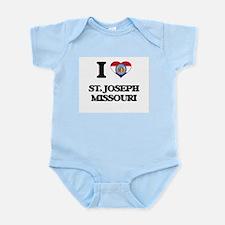 I love St. Joseph Missouri Body Suit