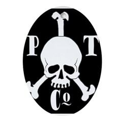 Pyrate Trading Co Oval Ornament