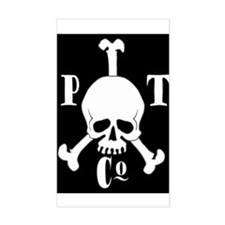 Pyrate Trading Co Rectangle Decal