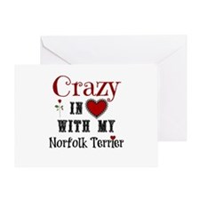 Norfolk Terrier Greeting Cards