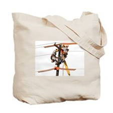 USA Lineman Tote Bag