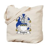 Daggett Family Crest  Tote Bag